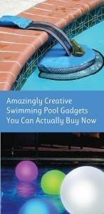 Amazingly Cool Swimming Pool Gadgets