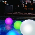 Floating Globe with Color Changing LED Lights