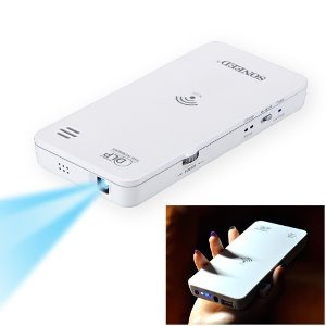 Mini HD Wireless WiFi DLP Projector for Mobile Devices