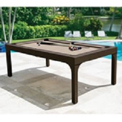 Outdoor Billiards To Dining Table