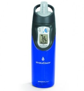 Sportline HydraCoach Intelligent Water Bottle