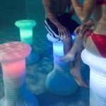 Underwater Pool Chair with LEDs