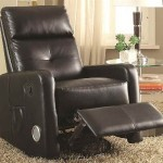 man cave ideas Recliner with Built-In Bluetooth Speakers