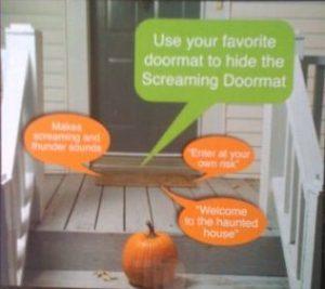 Pressure Sensitive Screaming Doormat