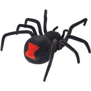 Radio Controlled Black Widow Spider