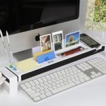 Cyanics iStick Multifunction Desk Organizer with 3 Hub USB Port, Cup Holder, Card Reader, Letter Opener, Paper Holder and more