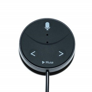 Muse Auto Alexa-Enabled Voice Assistant for Cars with Hands-Free Music, Audiobooks, Navigation and 2-Port USB Car Charger