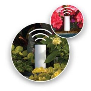 PlantLink Wireless Plant Sensor Indoors Outdoors. Monitors Soil Humidity and Sends Alerts When Plants Need Water