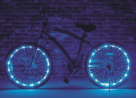 bike accessories Wheel Brightz LED Bicycle Tire Lights bike accessories gadget