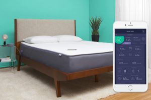 """Eight Smart Mattress, 10"""" Reactive Foam with Sleep Tracking and Temperature Control"""