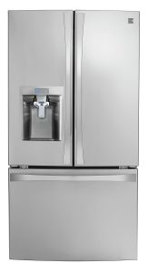 Kenmore Smart 24 cu. ft. French Door Bottom-Mount Refrigerator with Amazon Alexa