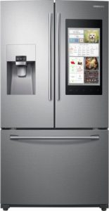 Samsung - Family Hub 2.0 24.2 Cu. Ft. French Door Refrigerator