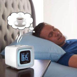 Smell The Coffee Alarm Clock
