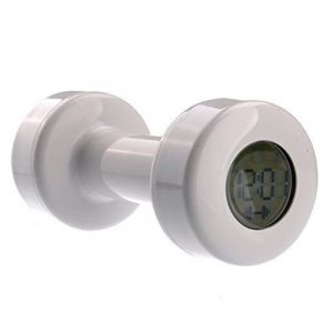 eSmart Shape Up Dumbbell Alarm Clock Barbell