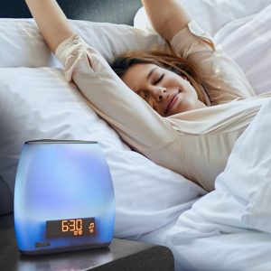 bedroom gadgets iHome Zenergy Bedside Sleep Therapy Machine