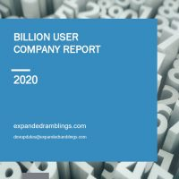 Billion User Company Report 2020 Cover