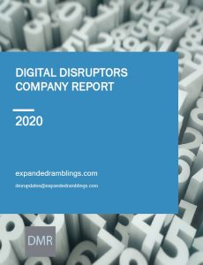 Digital Disruptors Company Report 2020 Cover