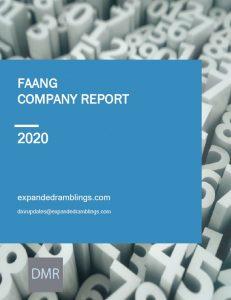 FAANG Company Report 2020 Cover