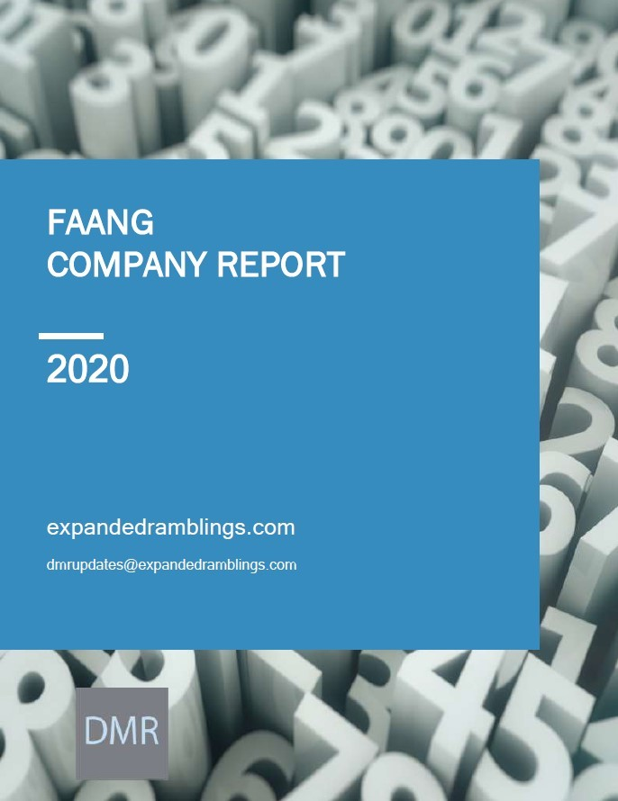 FAANG Company Report 2020 Cover