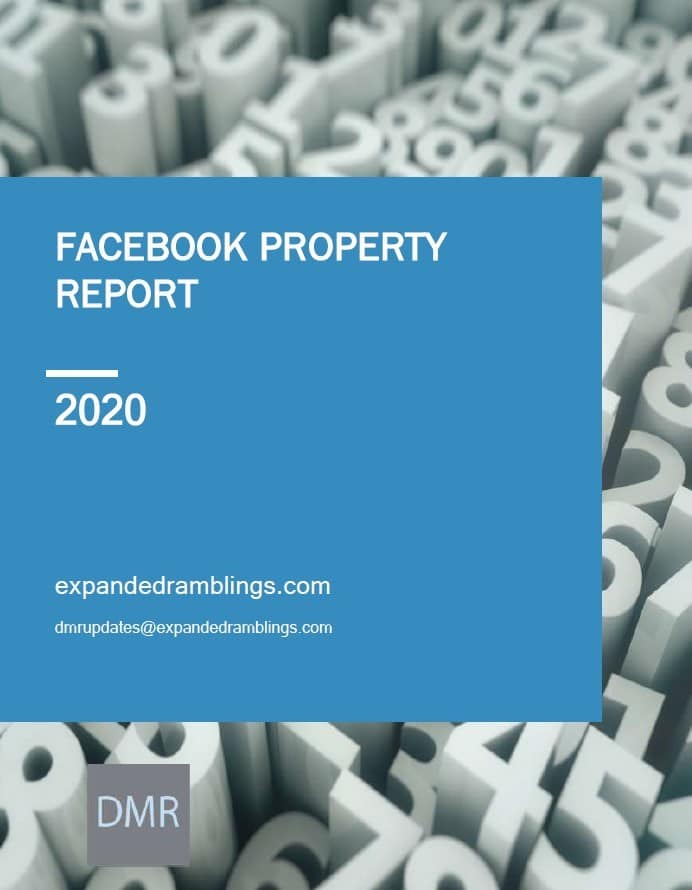 Facebook Property Report 2020 Cover