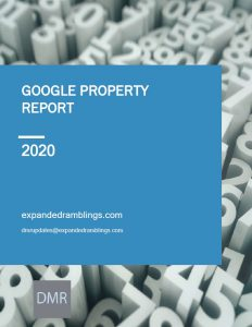 Google Property Report 2020 Cover