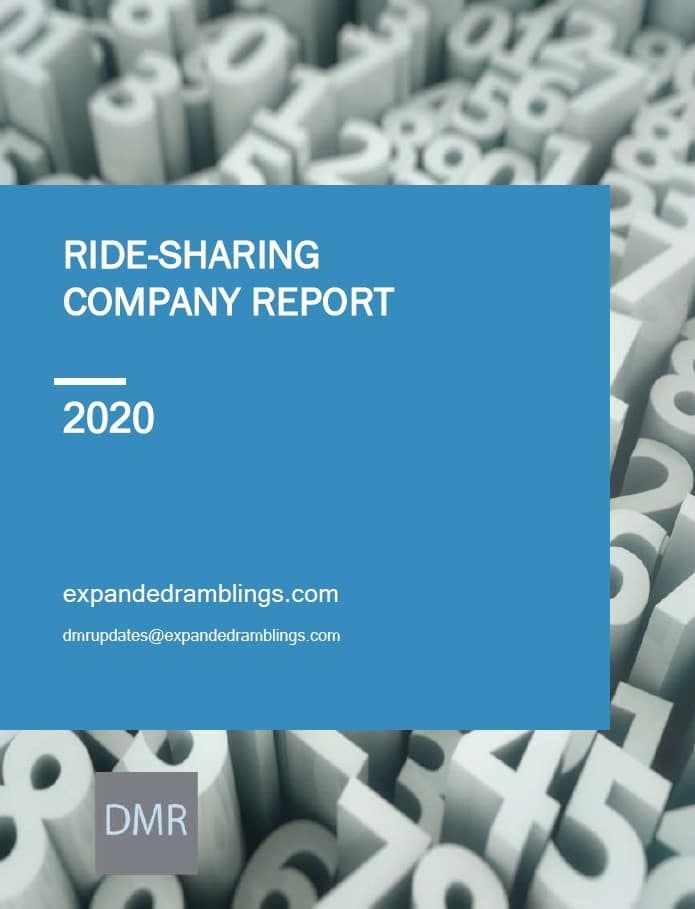 Ride Sharing Company Report 2020 Cover