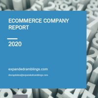 ecommerce Company Report 2020 Cover