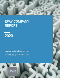 epay Company Report 2020 Cover