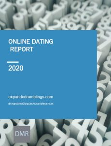 online dating industry report 2020 cover