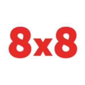 8x8 statistics facts