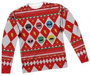Power Rangers Ugly Christmas Sweater