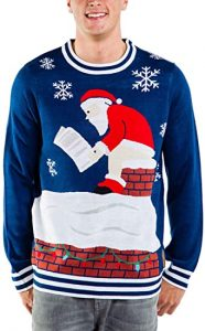 Santa Pooping Christmas Sweater
