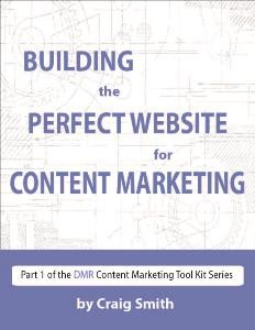 build content marketing website