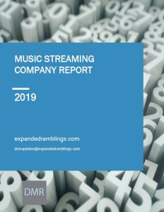 streaming music report