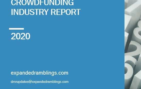 Crowdfunding Industry Report 2020 Cover