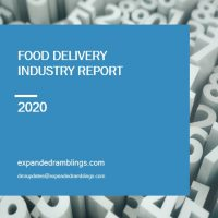 Food Delivery Industry Report 2020 Cover