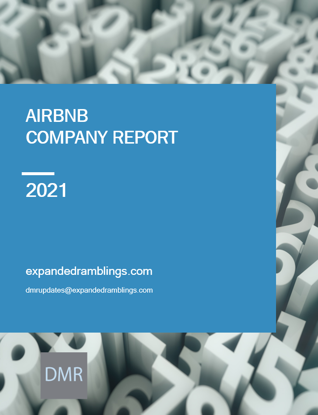 airbnb company report 2021