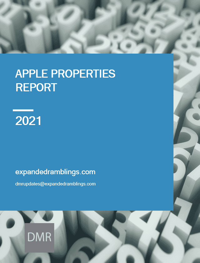 apple property report 2021