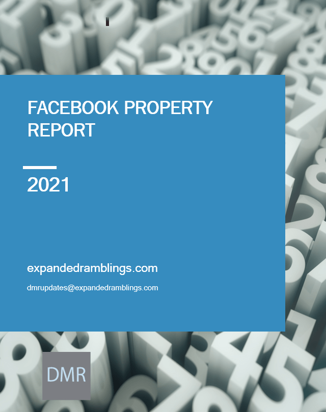facebook property report 2021