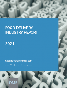 food delivery industry report 2021
