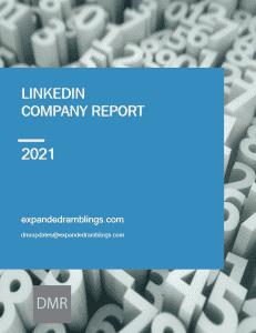 linkedin company report 2021