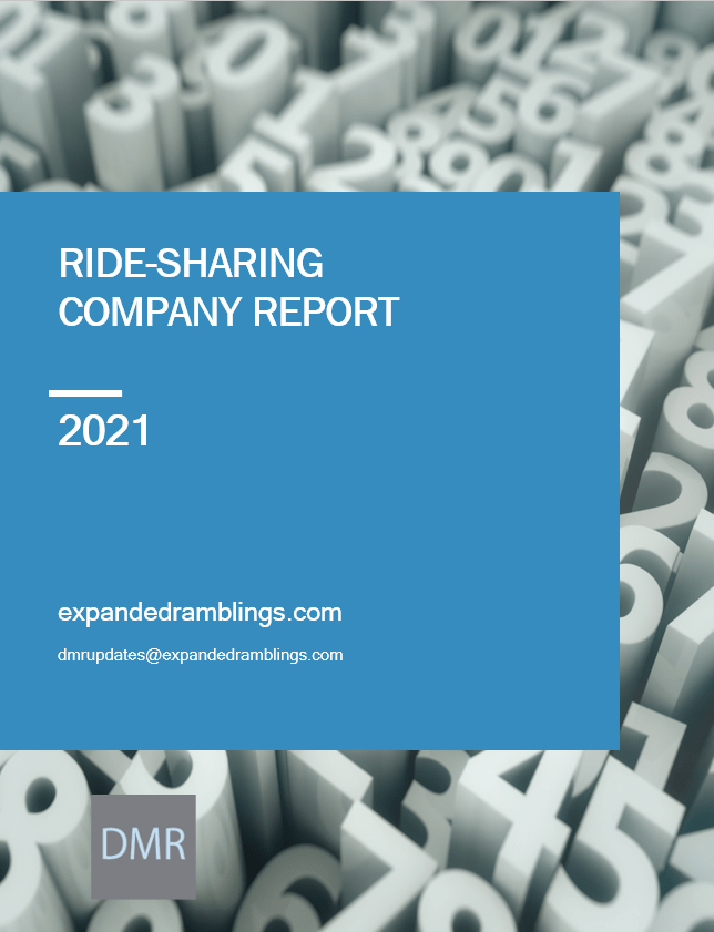 ride sharing industry report 2021
