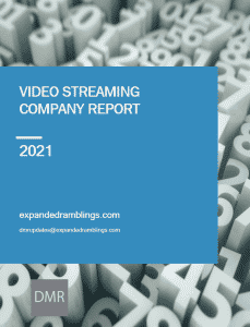 video streaming industry report 2021