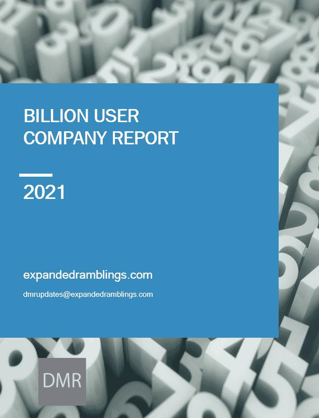 billion user company report 2021