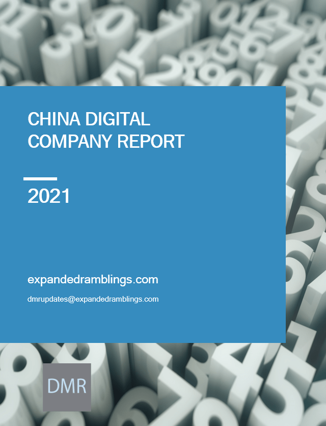 china digital company report 2021