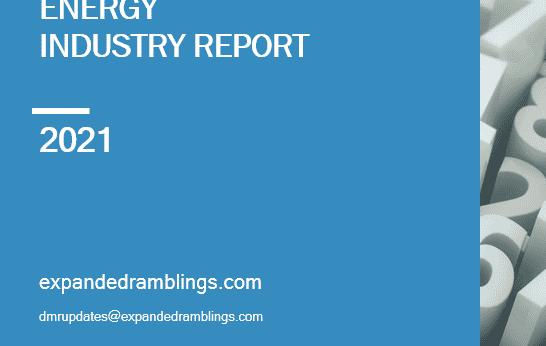 energy industry report 2021