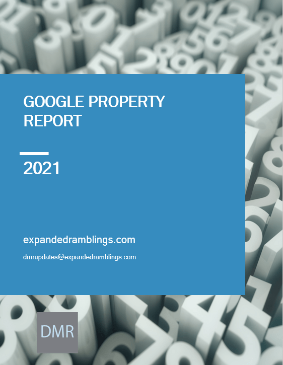 Google Product Report (2021 Edition)