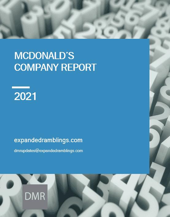 mcdonalds company report 2021